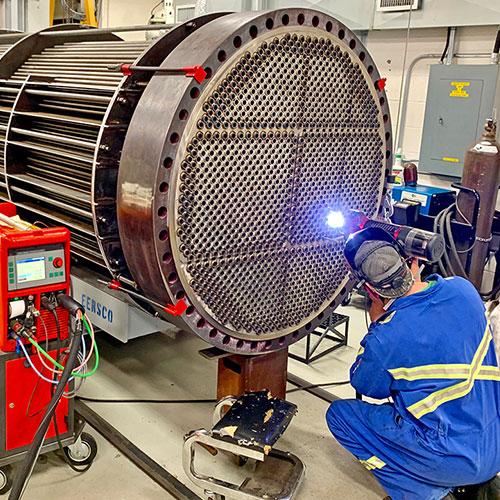 Heat exchanger repair